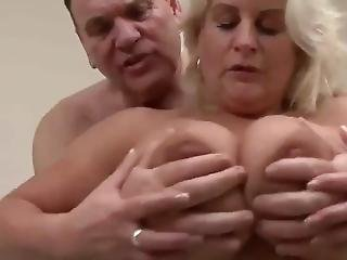 British Blonde Mature Big Tits Pornstar Robyn Ryder Playing Chamber Maid