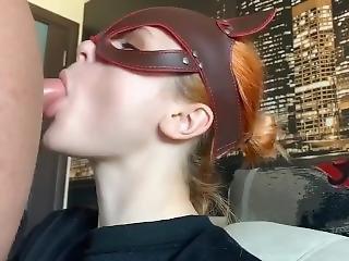 Extreme Deepthroat With Teen Redhead Girl