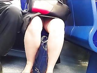 Evening Upskirt For Two Part Two