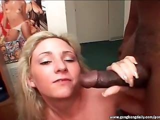 Two Slutty Whores Sucking Cocks And Swallowing Sperm