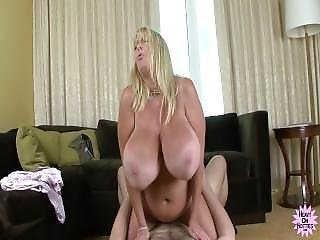 Cul, Gros Cul, Gros Téton, Blonde, éjaculation, Star Du Porno