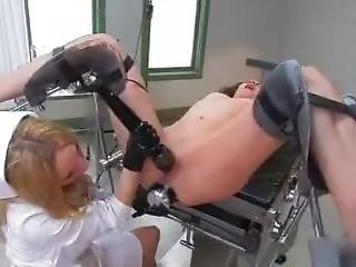 Aiden Starr Femdom Nurse Fisting Slave Amber Rayne