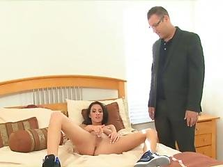 Young Teen Seduces And Bangs Her  Step Dad