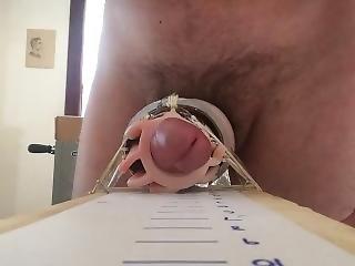 Homemade Cock Milker, Part 1