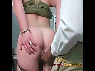 Slutty Blonde Takes A Cumshot At Her First Day At Work-6