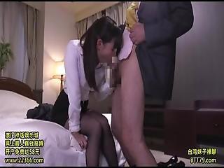 Office Lady Hardcore Pantyhose 9703