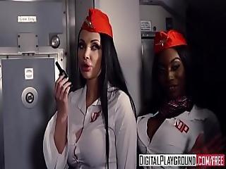 Digitalplayground - Fly Girls Final Payload Scene 2 Aletta Ocean Nicolette Shea Axel Aces Ryan Ryder