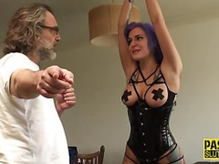 Tied Up Real Submissive
