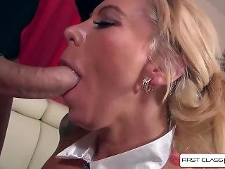 Hot Secretary Lolly Ink Sucking A Monster Cock, Big Boobs - Firstclasspov