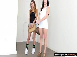 Megan And Her Gf Casting