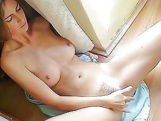 Hot Morning Masturbation