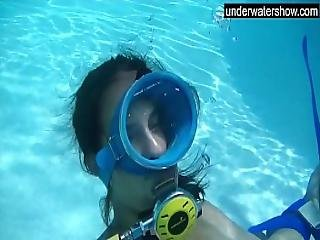 Amateur camera equipment underwater