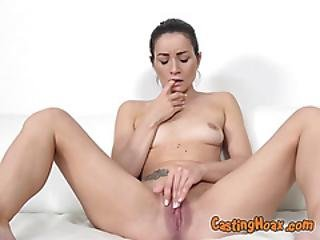 Broke Chick Valentina Bianco Masturbates For Fake Agent