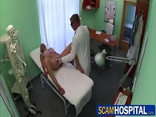 Blonde Chick Patient Gets Healed By Doctors Big Cock Pounding Her Sweet Pussy