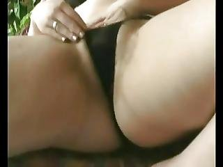 Horny Fat Bbw Teen With Hairy Pussy Masturbating On Couch