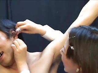 Japanese Fm Tickling (4)
