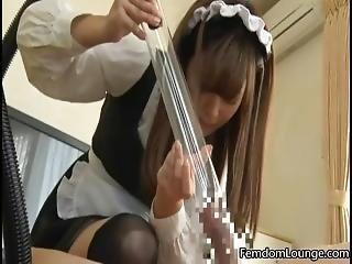 Japanese Femdom Vacuum