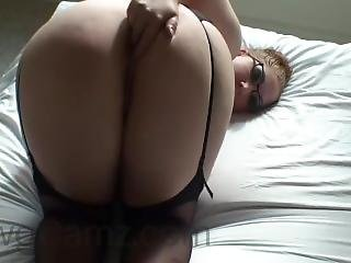 Pawg Babe In Black Lingerie