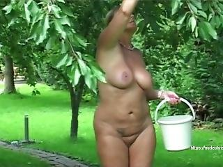 My Private Nudist-garden