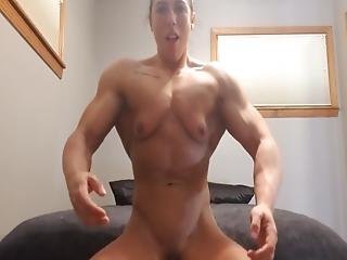 Young Fbb Dildoing Herself