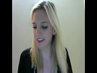 Hot blonde teen big tits webcam