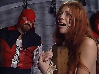 Large Booty Redhead Receives Some Hard Spanking