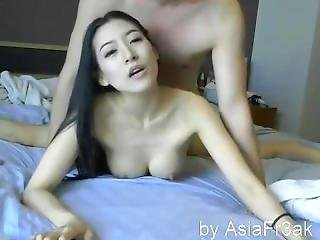 Chinese Couple Fucked