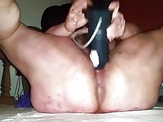 Fat Mom Humps Gigantic Dildo - An Old Friend 1