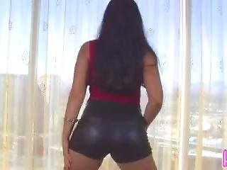 Shiny Shorts Joi (with Some Mild Humiliation)