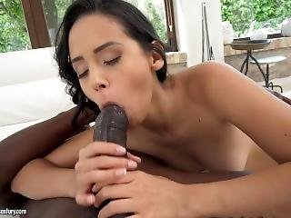 babe, blowjob, fundición, cumshot, deepthroat, ébano, duro, latina