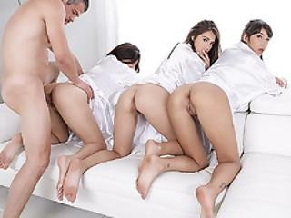 Teens Spa Day Turn Into Cock Sucking And Balls Day