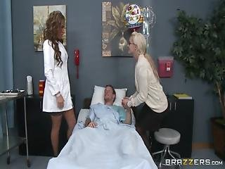 Ass, Big Tit, Brunette, Doctor, Nurse, Rich, Uniform, Workplace, Worship