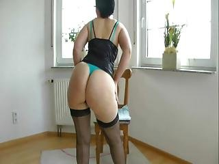 Mature Housewife With Big Ass Fucked In The Kitchen
