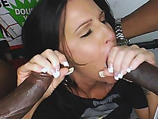 Brunette Wife Caught By Husband Fucking Big Black Cock