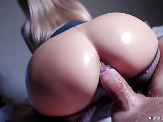 Milf Hot Riding On Hard Cock, 4k (ultra Hd) - Alena Lamlam