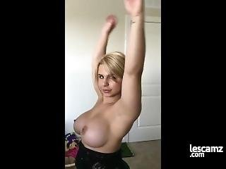 Big Booty Lesbian Strap On Fuck Session