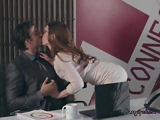 Sex In The Office For Veronica Vain Breaking The Humdrum