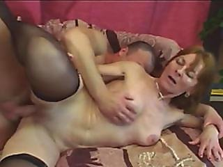 Granny Ivet Pleasing Younger Schlong By Pounding