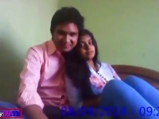 Indian School Teenage Lovers Fuck Hard