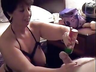Obciąganie, Sperma, Finał Do Buzi, Połykanie Spermy, Dojrzała, Połyk