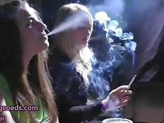 λεσβιακό, κάπνισμα