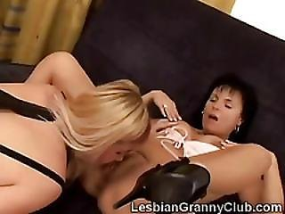 Best Friend, Blonde, Brunette, Dildo, Fingering, Grandma, Granny, Lesbian, Lick, Old, Oral, Pussy, Pussy Lick, Stocking, Toys
