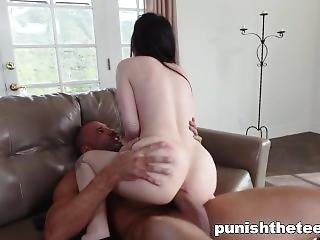 Submissive Teenslut Gets Her Ass Fucked