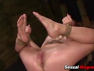 Submissive Wife Sandy Hot Orgasm Pains