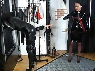 Dominatrix In Pvc