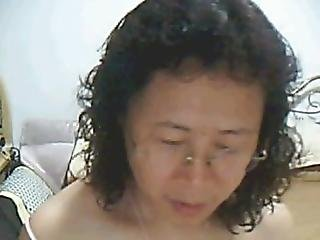 Asian, Chinese, Masturbation, Mature, Webcam