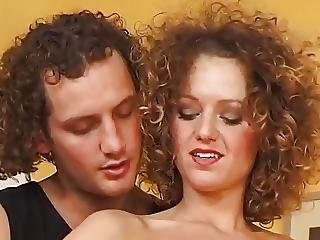 Nice Anal And Facial For Curly Brunette