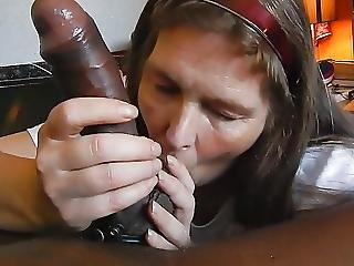 Beautiful Big Black Cock Blowjob 25