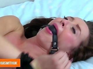 μωρό, bondage, bound, αγγλικό, μελαχροινή