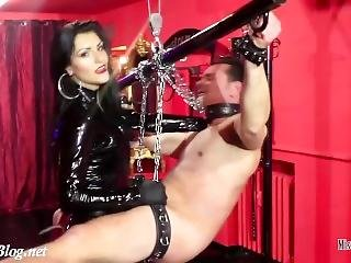 Drilled Asshole Mistress Iside - Big Strap-on